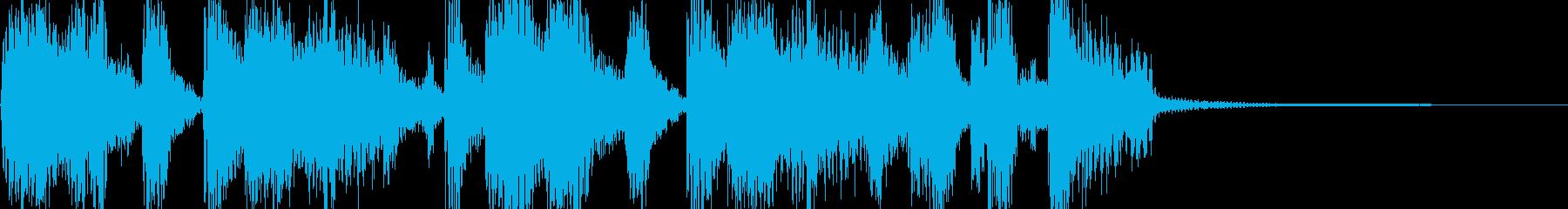 巨漢 ファンキーでアメリカンなジングルの再生済みの波形