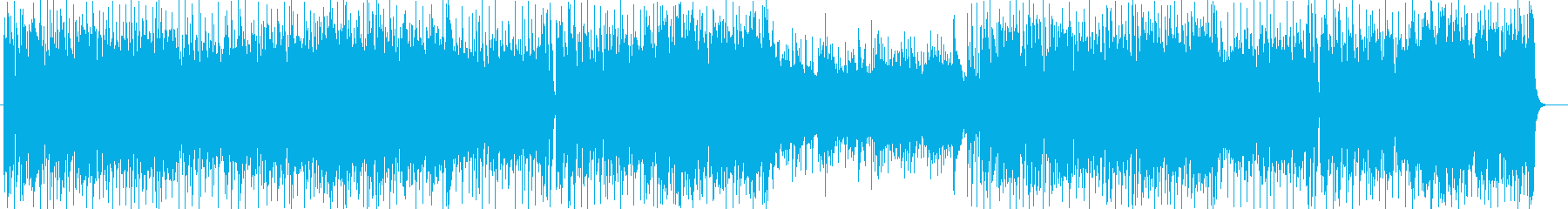 ストリングスによる疾走感のあるポップスの再生済みの波形