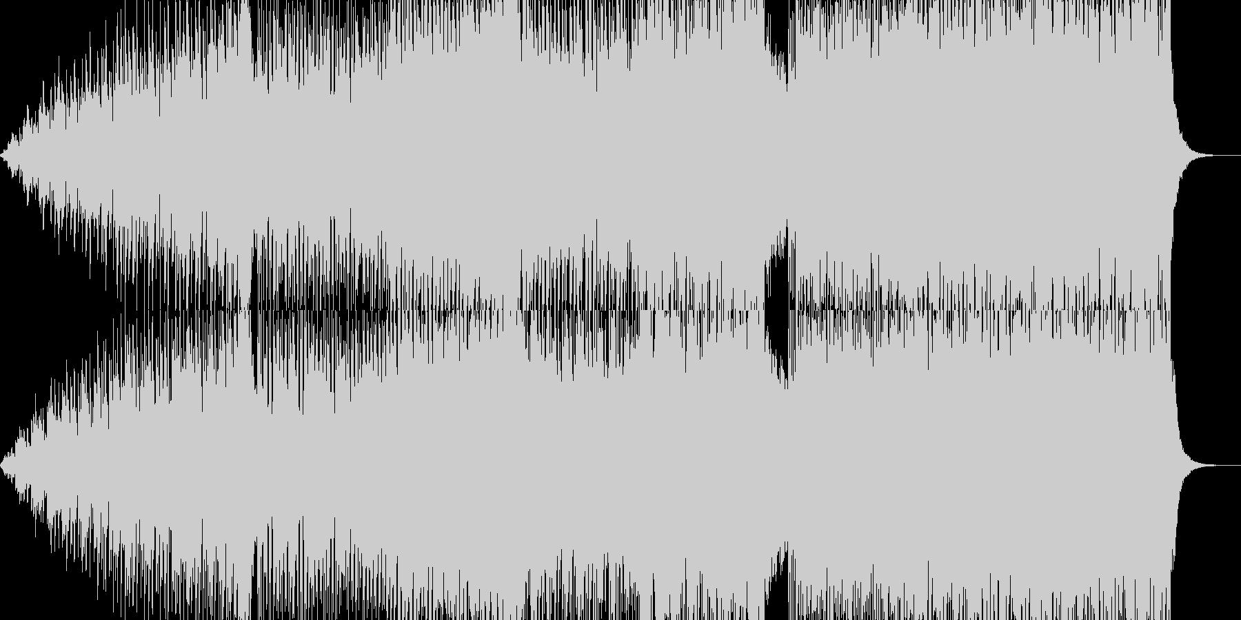 NATUMI DANCEの未再生の波形