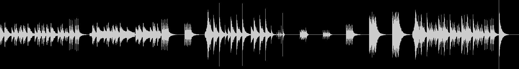 アニメ系の日常シーン向けBGMです。の未再生の波形