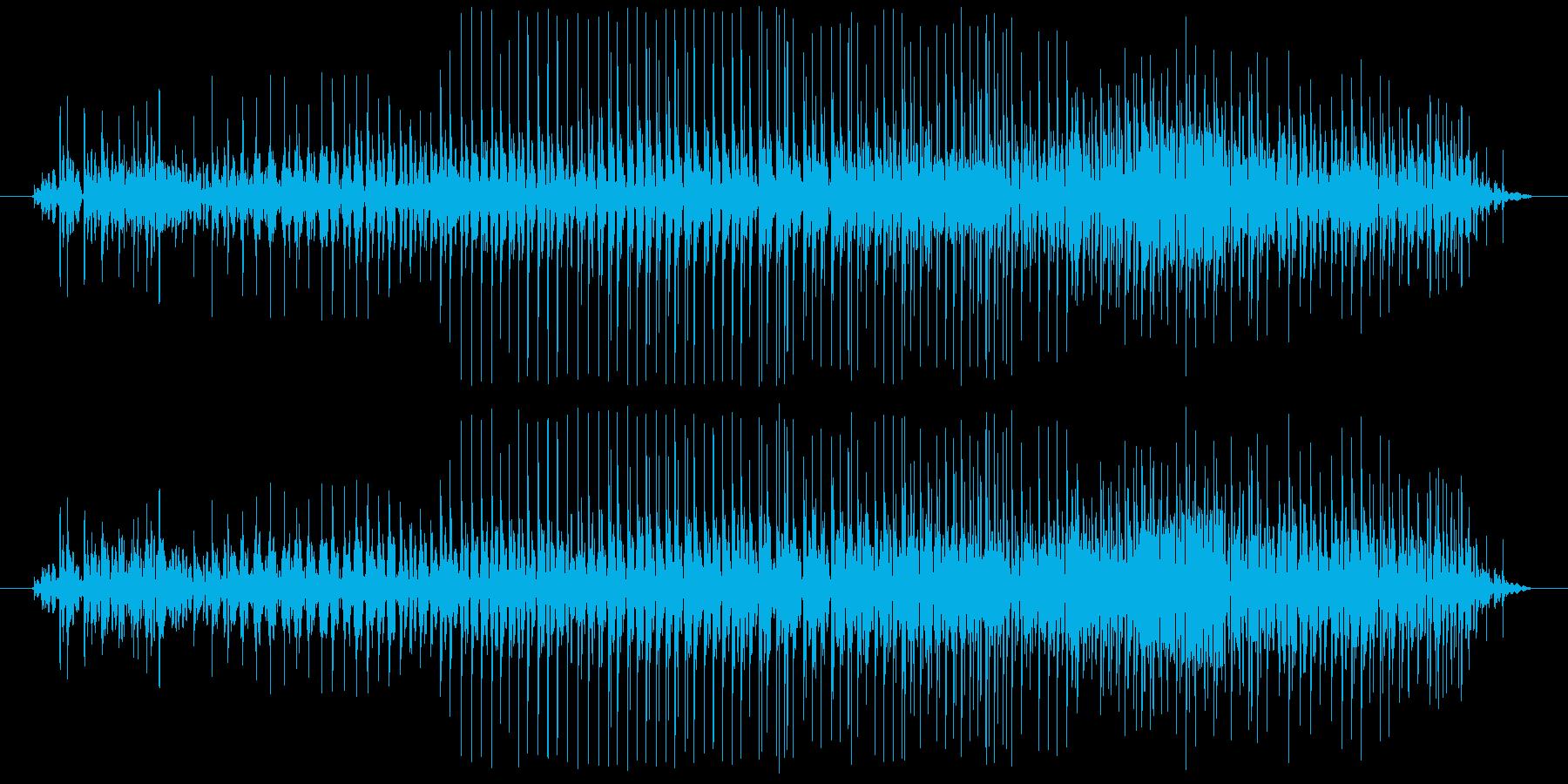 ジイイイイイイ。(ジッパーの音)の再生済みの波形