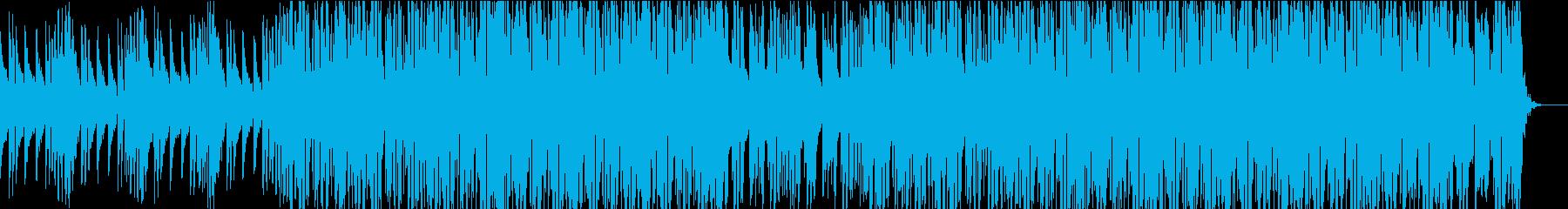 CMや映像に おしゃれなハウス・ダンスの再生済みの波形