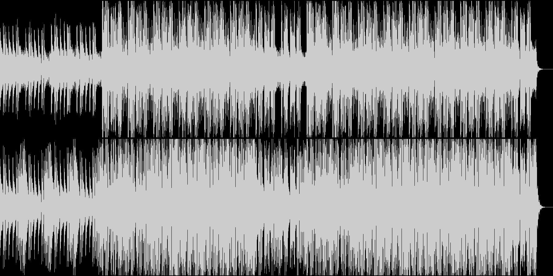 CMや映像に おしゃれなハウス・ダンスの未再生の波形