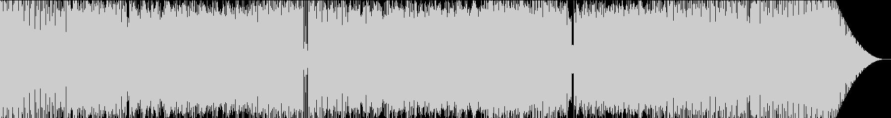 EDM系のポップなインストの未再生の波形