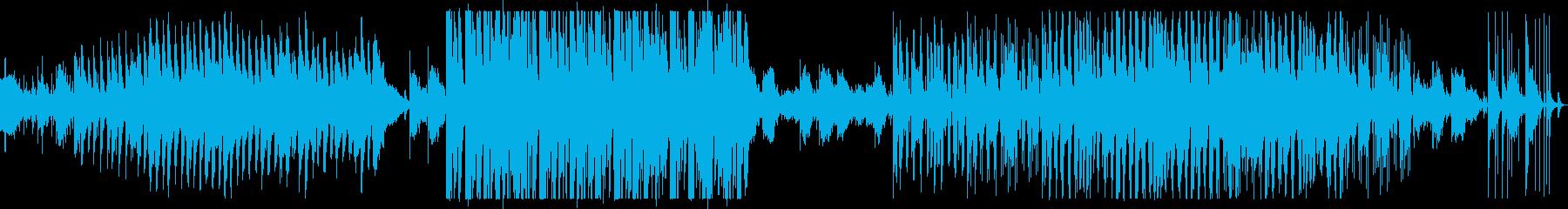 不思議なピアノ曲の再生済みの波形