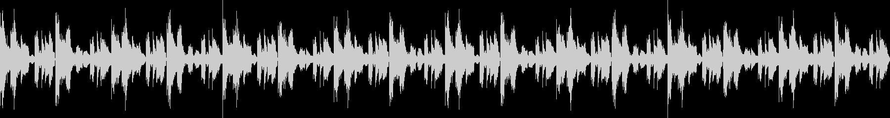 ナチュラルマイルドヒップホップ(ループ)の未再生の波形