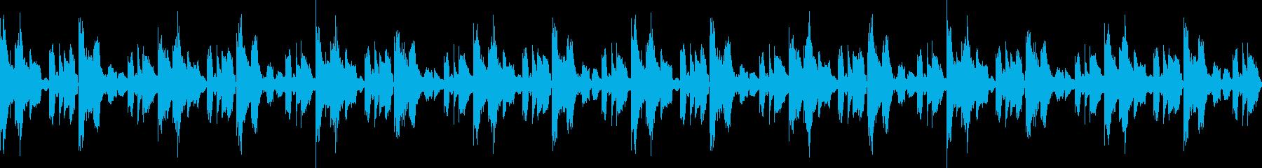 ナチュラルマイルドヒップホップ(ループ)の再生済みの波形