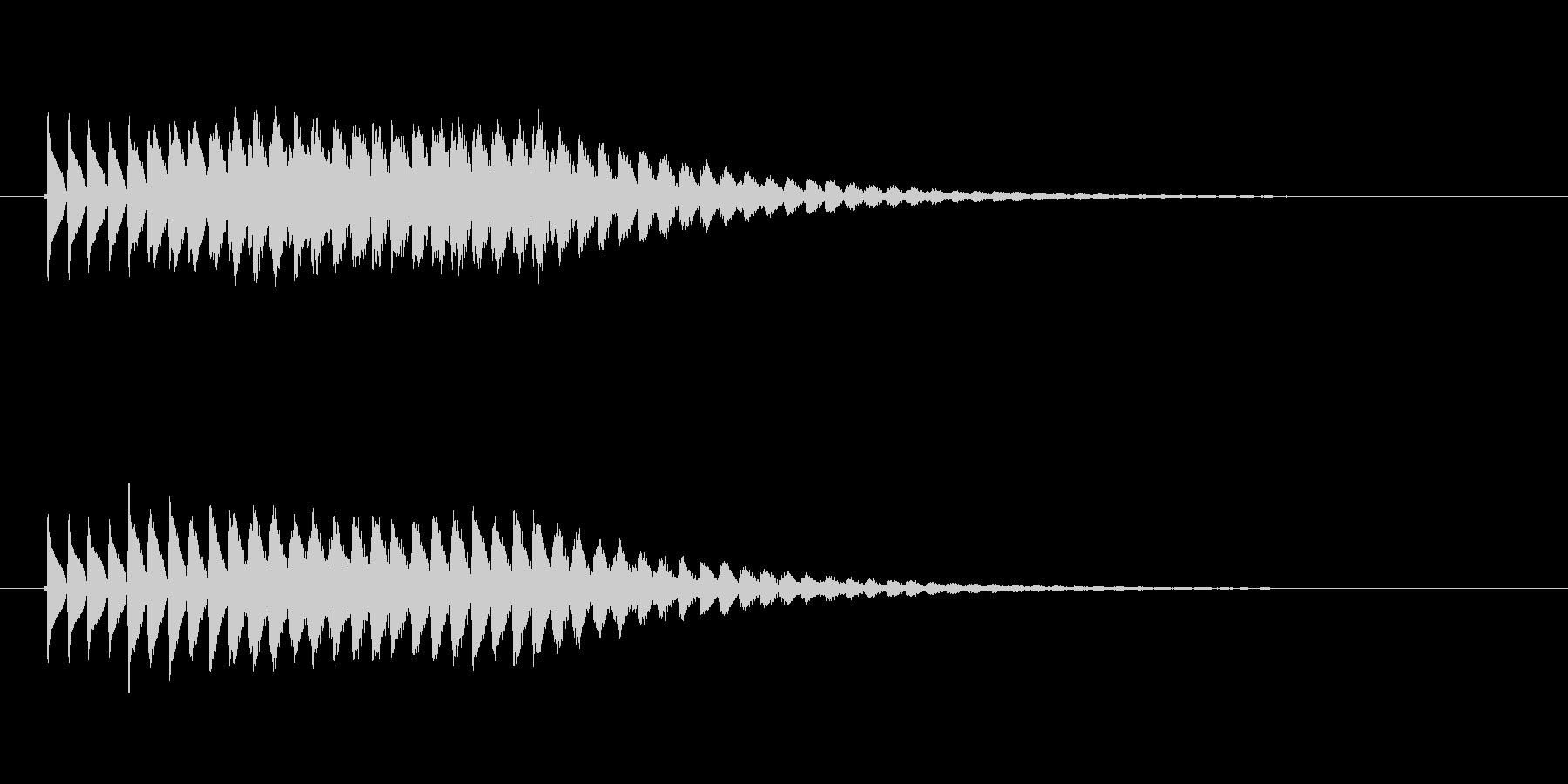 ピロロロロ(未来的な音)の未再生の波形