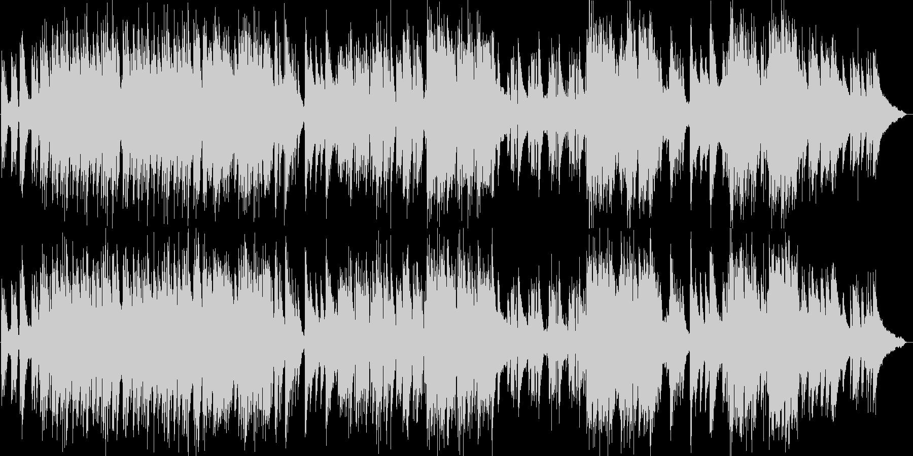 エリック・サティのジャズピアノトリオの未再生の波形