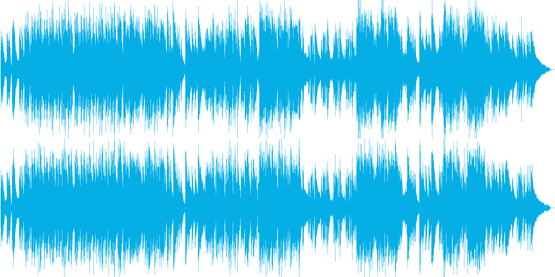 エリック・サティのジャズピアノトリオの再生済みの波形
