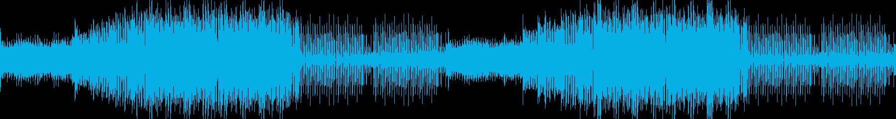 入場・オープニング・爽やか明るいEDMの再生済みの波形