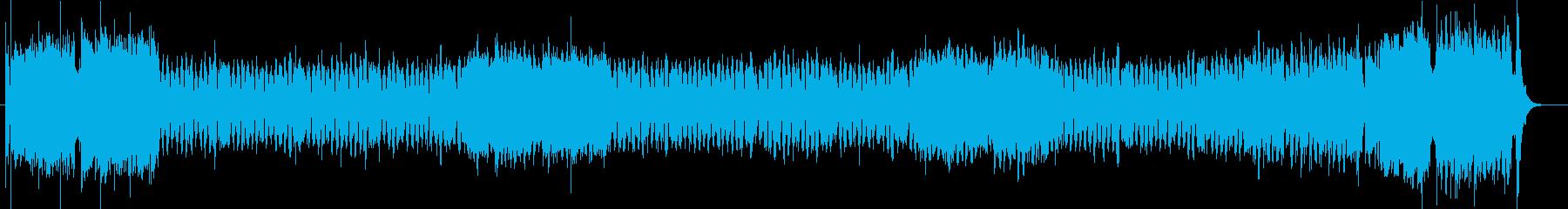 吹奏楽をイメージしたコミカルなインスト曲の再生済みの波形