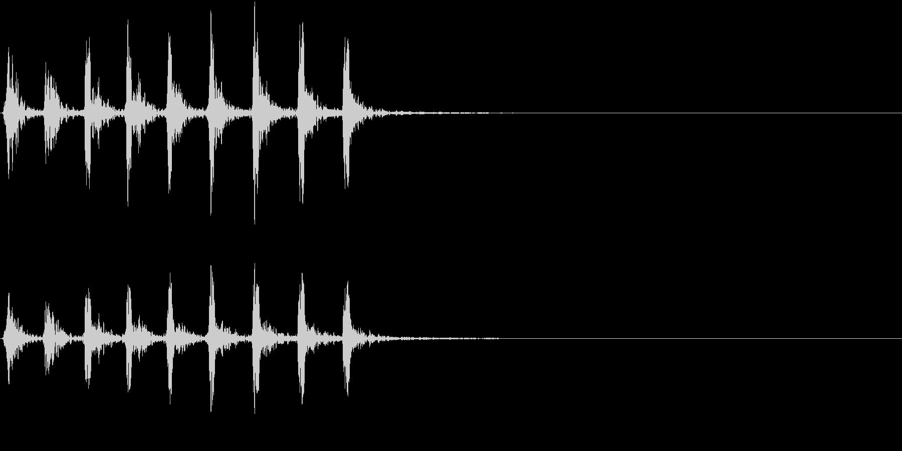 【生録音】小鳥のさえずり 野鳥 2の未再生の波形