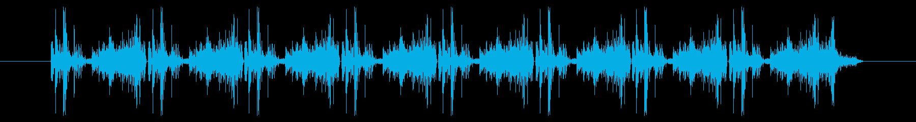 カメラ 携帯電話01-3の再生済みの波形