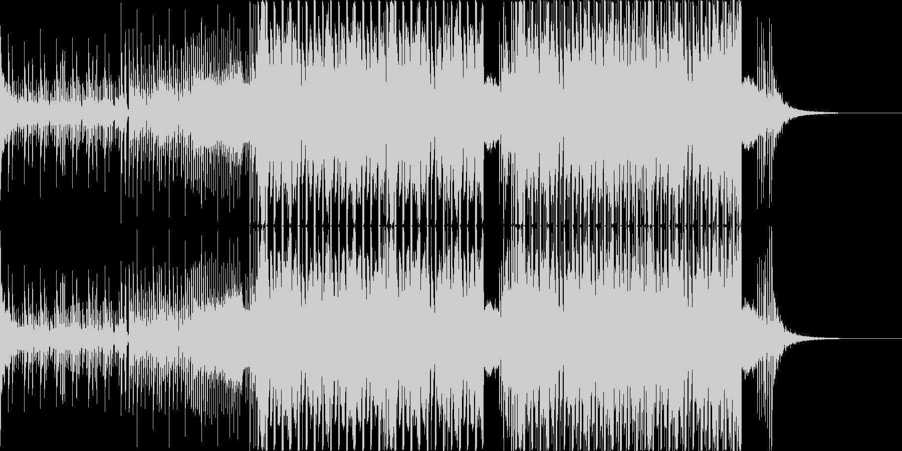 パワー ダーク 暗め 力強い EDMの未再生の波形