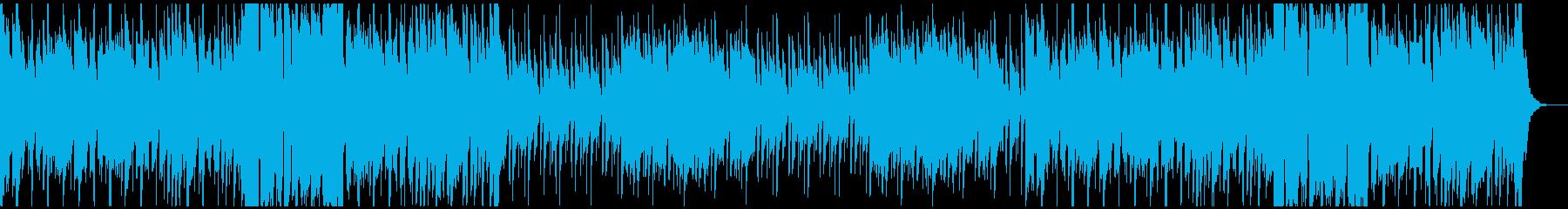 アラビア風のBGMの再生済みの波形