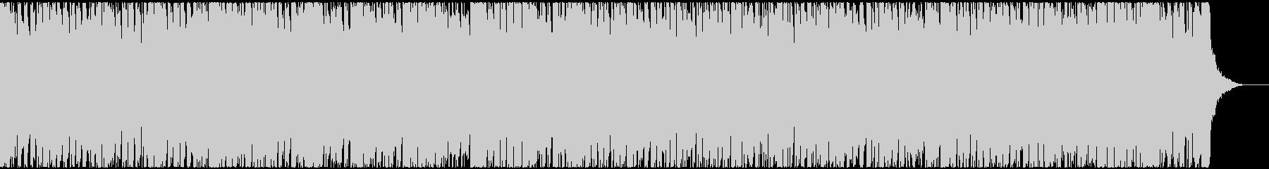力強くワイルドなブルースロックの未再生の波形