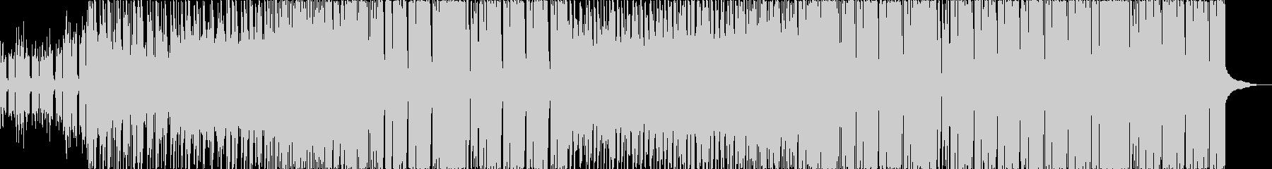 三味線カワイイ系future bassの未再生の波形