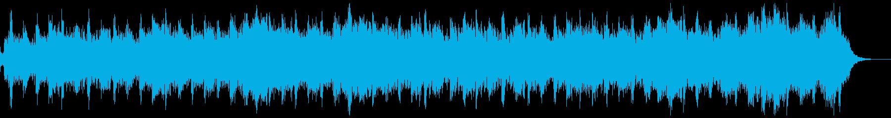 クリスマスのキラキラ静かなジングルの再生済みの波形