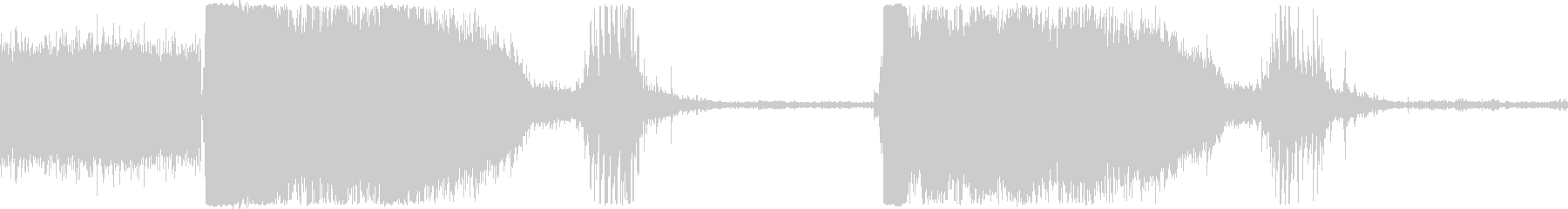 トイレットフラッシュボウルグルグルの未再生の波形