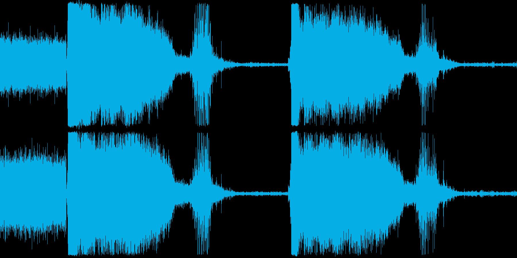 トイレットフラッシュボウルグルグルの再生済みの波形