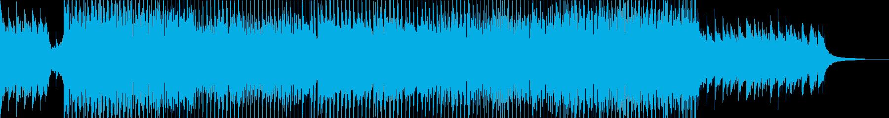 前向きなイメージのオープニング②の再生済みの波形