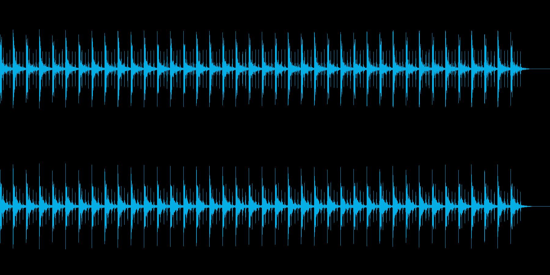 ピッピ+秒針 カウント40秒 - 04の再生済みの波形