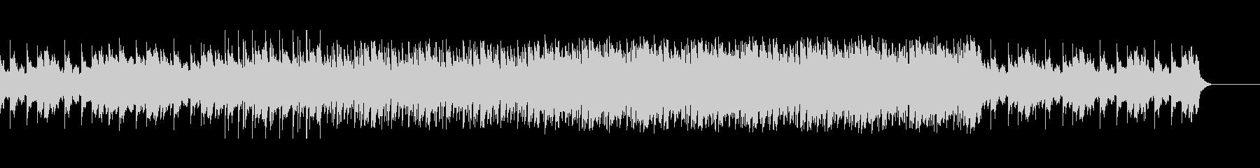 神秘的なシンセサイザーBGMの未再生の波形