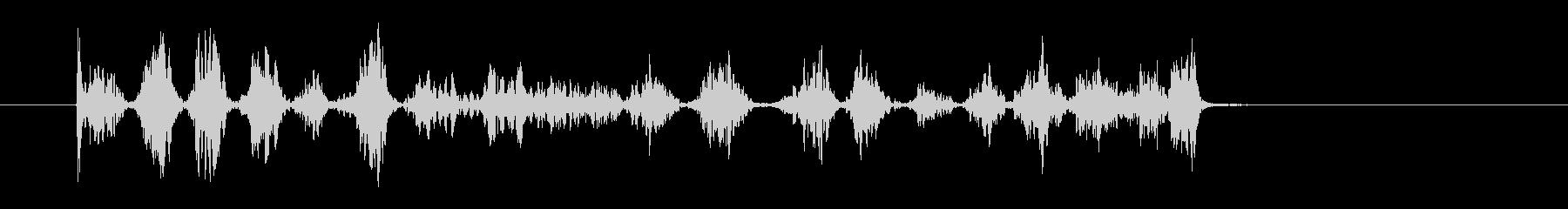 サインを書く音(ボールペン)DHの未再生の波形