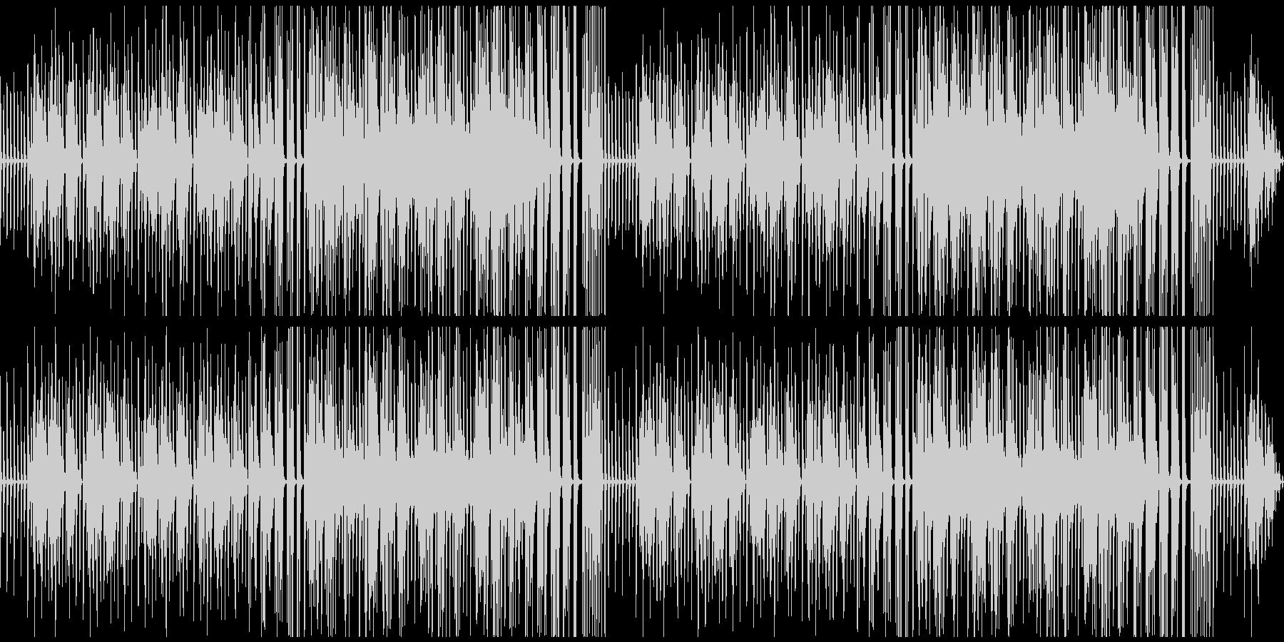 トークなどに使えそうな素朴なピアノ曲の未再生の波形