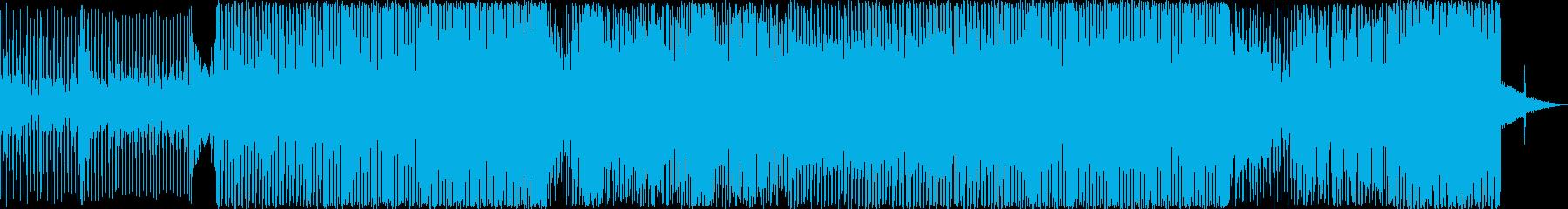 テレビゲーム 楽しげ シンセサイザ...の再生済みの波形