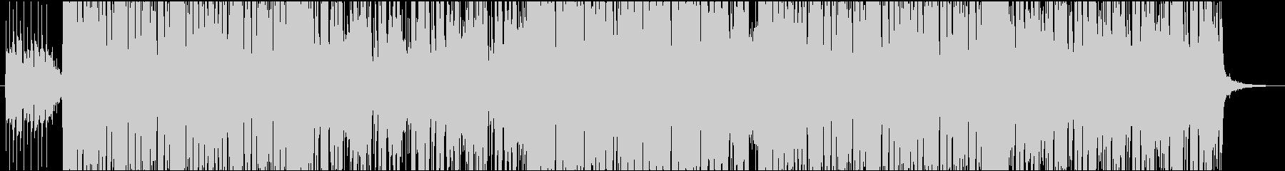 電気研究所技術発見のテーマ。ハイテ...の未再生の波形
