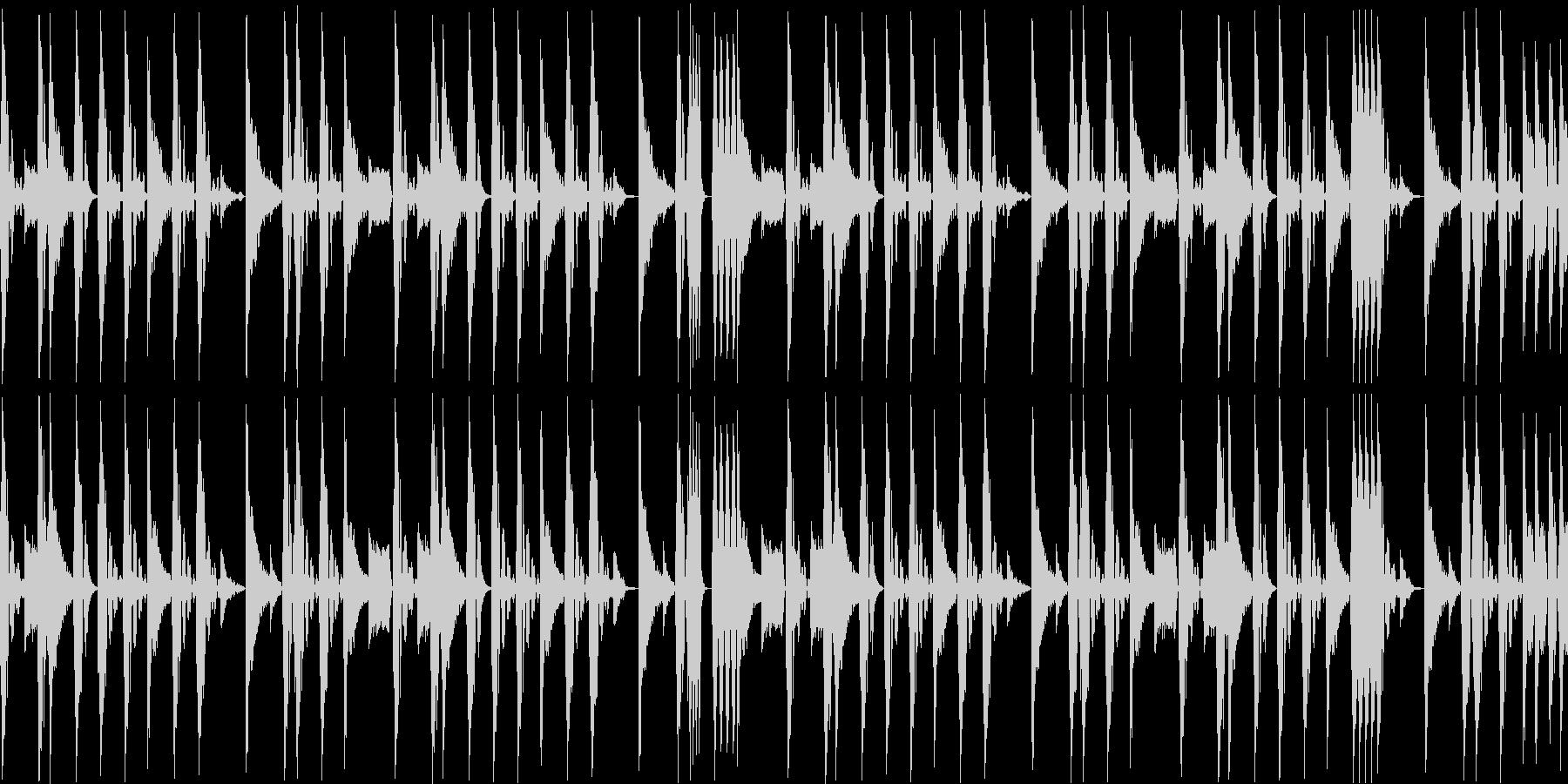 ノリの良いブレークビーツ_004の未再生の波形
