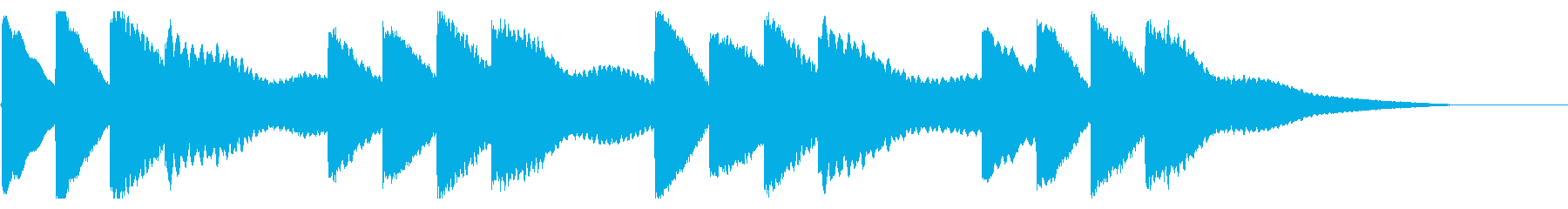 学校のチャイム-2_dryの再生済みの波形