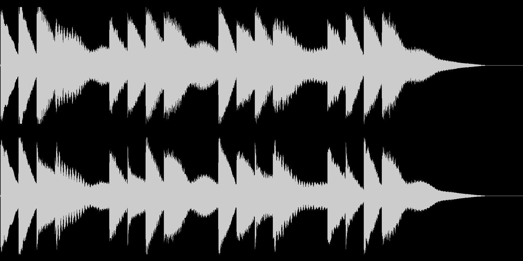 学校のチャイム-2_dryの未再生の波形