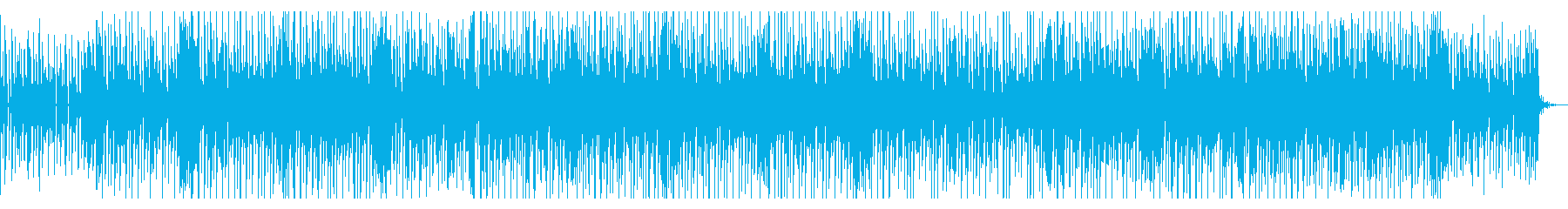 切なくカッコよく怪しげな雰囲気のある曲の再生済みの波形