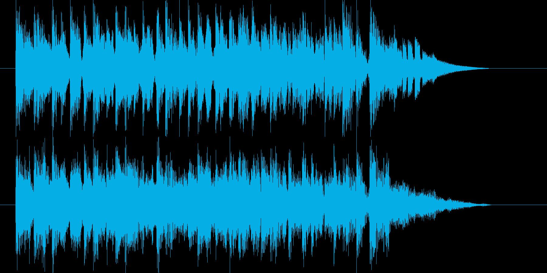 心安らぐ穏やかなバラードの再生済みの波形
