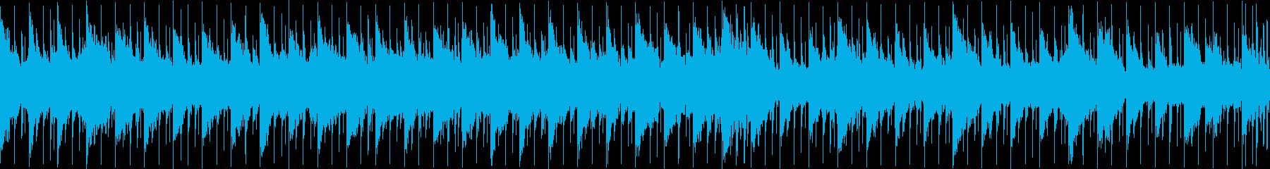 暗闇や恐怖を煽るダークサウンド Loopの再生済みの波形