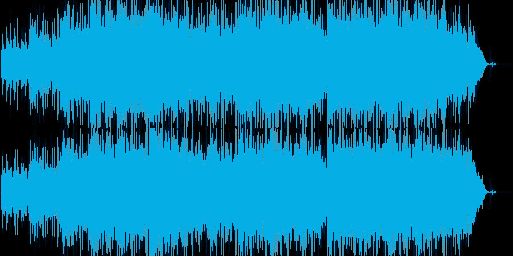 スローロック。商業のの再生済みの波形