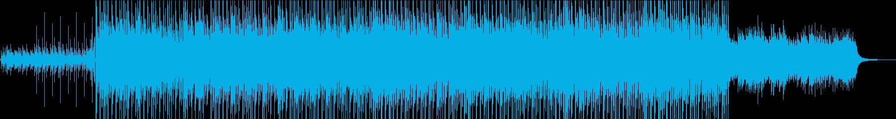 かわいくてちょっと切ないエレクトロポップの再生済みの波形