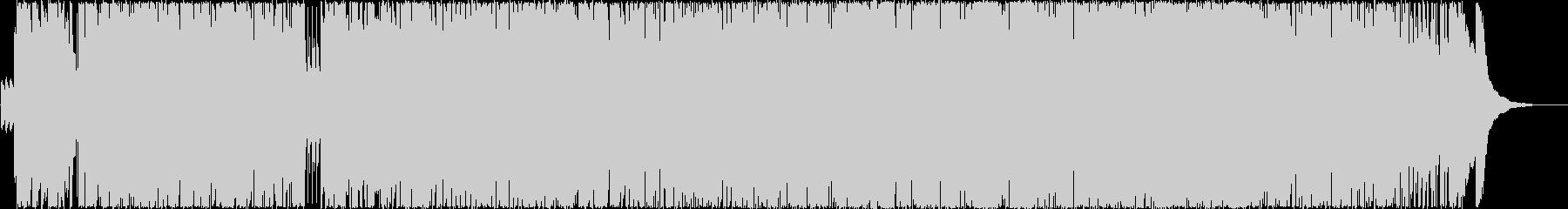 ピアノ伴奏でふわふわしたガールズポップの未再生の波形