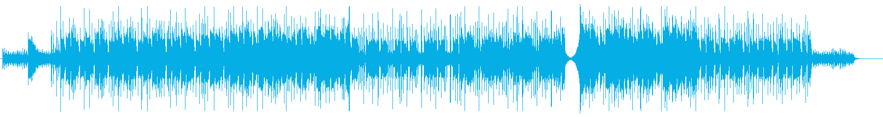 ワクワクした日常系BGMの再生済みの波形