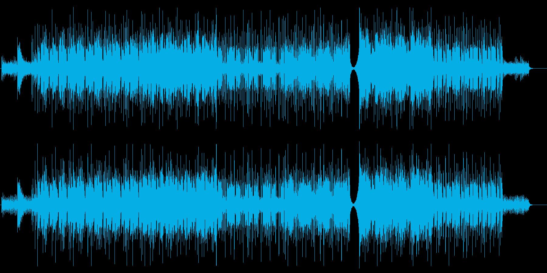 【オーケストラ】ワクワク_朗らか_日常の再生済みの波形