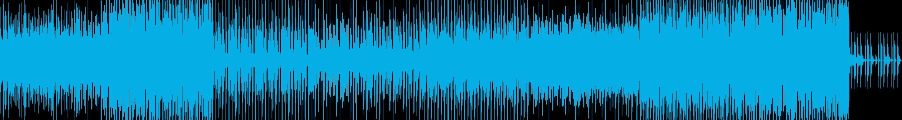 【エレクトロニカ】夏の終わりにの再生済みの波形
