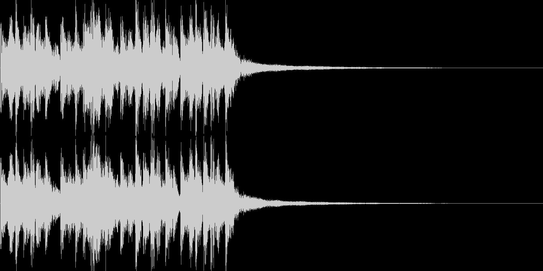 艶やかなギター ジングル/サウンドロゴの未再生の波形