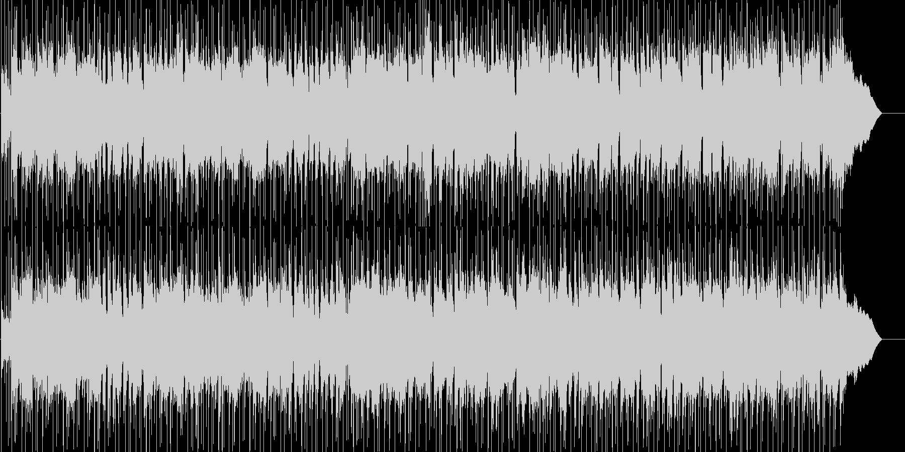 ギターによるほのぼのイージーリスニングの未再生の波形