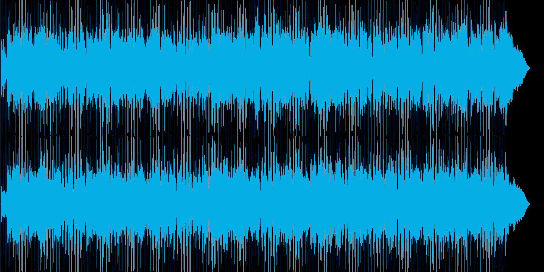 ギターによるほのぼのイージーリスニングの再生済みの波形