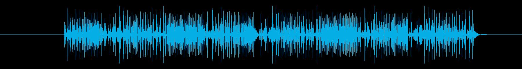 FX アーケードインテンスプレイ01の再生済みの波形
