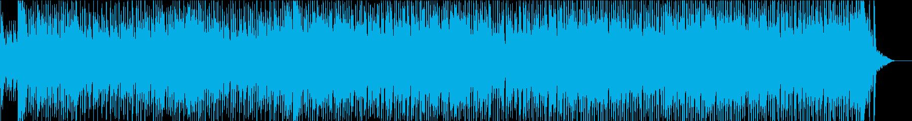 生演奏・高速ジプシーバイオリンのダンス曲の再生済みの波形