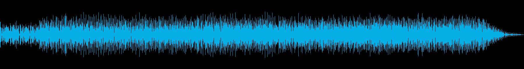 おしゃれなレゲエポップスの再生済みの波形